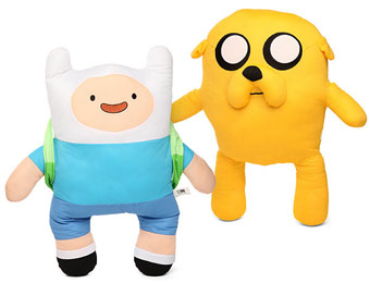"50% off Adventure Time 22"" Slamacows with Sound, Jake or Finn"