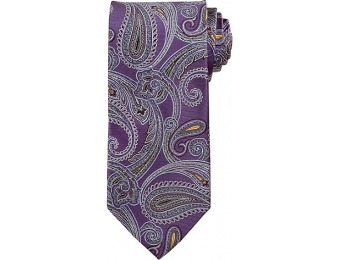 81% off Signature Large Silk Paisley Tie