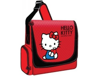 36% off Hello Kitty KT4339 Vertical Messenger Style Laptop Case