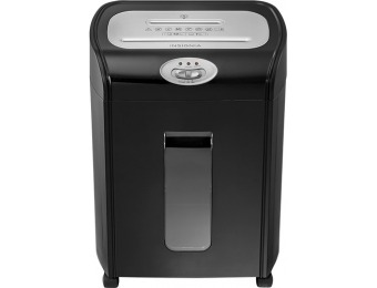$52 off Insignia 10-sheet Microcut Shredder