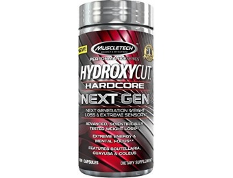 66% off MuscleTech Hydroxycut Next Gen Weight Loss, 100 Capsules