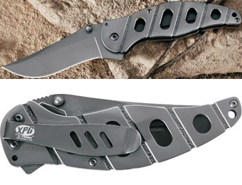45% off Cabela's XPG TI Stainless Steel Folding Knife