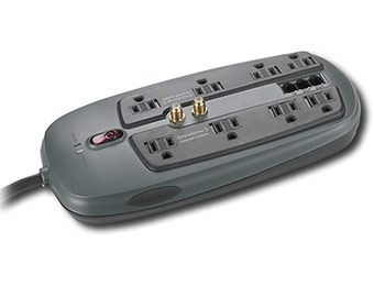 60% off Dynex 8-Outlet PC Home/Office Surge Protector