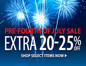 Pre-Fourth of July Sale: Extra 20-25% off at Sierra Trading Post