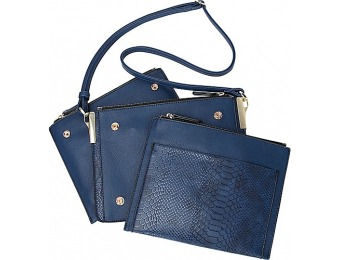 60% off Melie Bianco Tracey Multi-Layer Crossbody Handbags