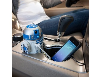 50% off Star Wars R2-D2 USB Car Charger