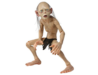 50% off NECA Lord of The Rings Smeagol Action Figure, 1/4 Scale