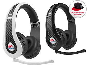 $70 off Monster Game MVP Carbon On-Ear Headset + Free Monster Hat
