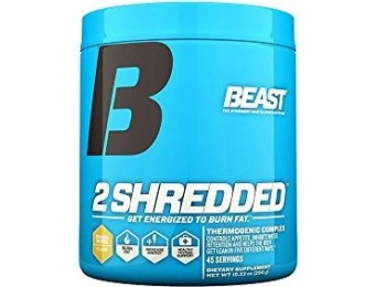 50% off Beast Sports Nutrition 2 Shredded Thermogenic Complex