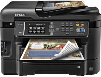 50% off Epson Workforce Wf-3640 Wireless All-in-one Printer