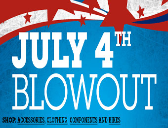 July 4th Blowout Sale at Performance Bicycle
