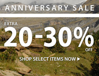 Extra 20-30% off at Sierra Trading Post's Anniversary Sale