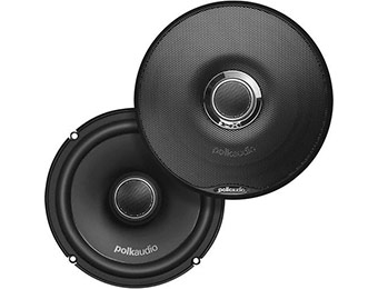 "60% off Polk Audio DXi650 High Performance 6.5"" Coaxial Speakers"