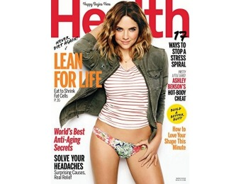 90% off Health Magazine Subscription