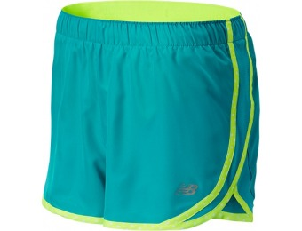 57% off New Balance WS53145SGL Women's Accelerate 2.5in Shorts