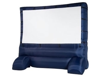 $78 off 12 ft. Inflatable Widescreen Airblown Deluxe Movie Screen