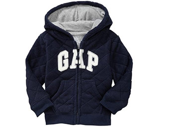 57% off Gap Logo Quilted Hoodies