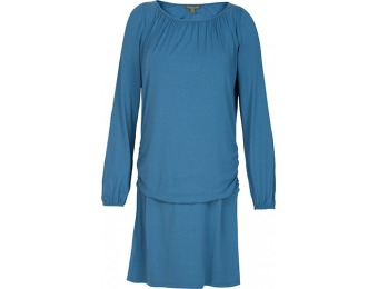 82% off Tommy Bahama Womens Tambour Cold-Shoulder Dress, Blue