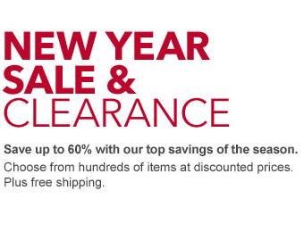 New Year Clearance Sale - Up to 60% Off!