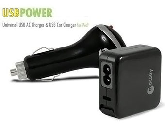 Macally Universal USB AC/Car Charger, Free after $14.99 rebate