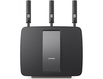 $177 off Linksys AC3200 Tri-Band Smart Wi-Fi Router w/ Gigabit, USB
