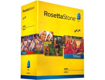 64% off Learn Arabic: Rosetta Stone Arabic - Level 1
