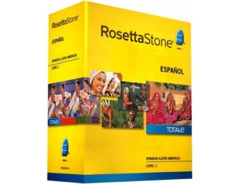 64% off Rosetta Stone Spanish (Latin America) - Level 1