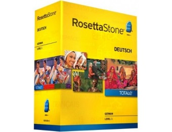 64% off Learn German: Rosetta Stone German - Level 1