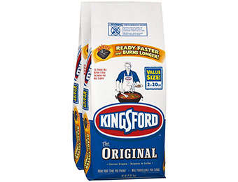 50% off Kingsford 2-Pack 40 lbs Charcoal Briquettes