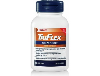 64% off GNC Triflex Comfort Supplements