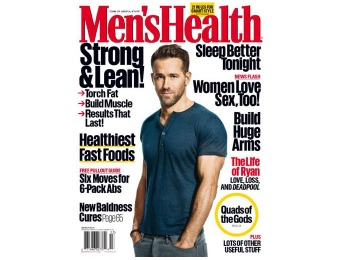 $35 off Men's Health Magazine Subscription, 12 Issues / $10
