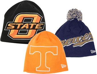 81% off New Era College / MLB Knit Beanies