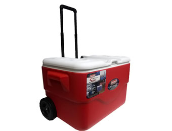 58% off Coleman Xtreme 50-Quart Wheeled Cooler