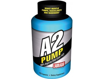 50% off Labrada Nutrition A2 Pump Diet Supplement, 120 Count