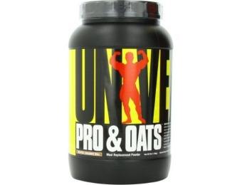40% off Universal Nutrition Pro and Oats Diet Supplement, 3 Pound