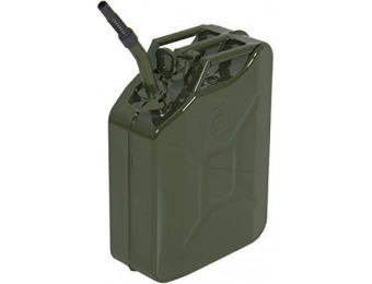59% off Jerry Can Gas Caddy Tank, 5 Gal Gasoline Gas Fuel Can