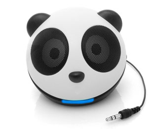 76% off Accessory Genie Gogroove Panda Pal Speaker System