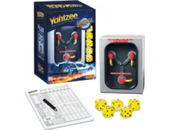 72% off Yahtzee: Back to the Future Collector's Edition