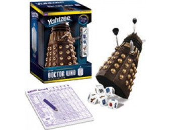 67% off Yahtzee: Doctor Who Dalek Collector's Edition