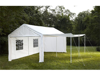 $348 off Garden Oasis 10'x20' Party Tent w/ Window, Extends to 20'x20'