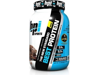 45% off BPI Sports Best Whey Protein, Chocolate Brownie, 2 lbs.