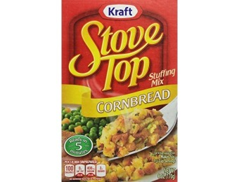 89% off Stove Top Stuffing Mix, Cornbread, 6 Ounce