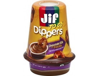 68% off Jif To Go Chocolate Silk with Pretzels, 1.69 Ounce (Pack of 8)