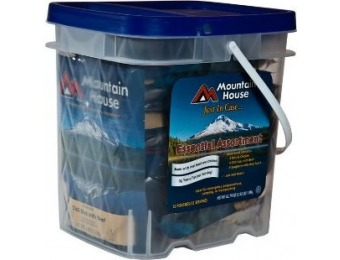 41% off Mountain House, Just In Case... Essential Bucket