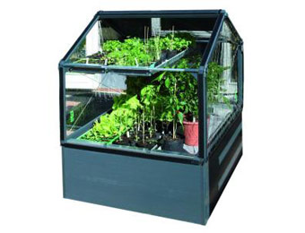 $59 off STC 4' x 4' Modular Vegetable Growing System Shed