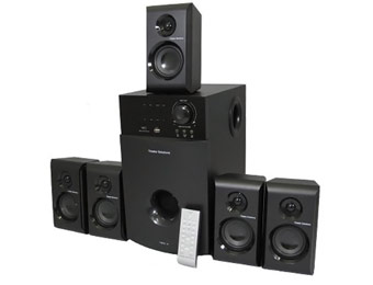 $150 off Theater Solutions TS514 5.1 Home Theater Speaker System