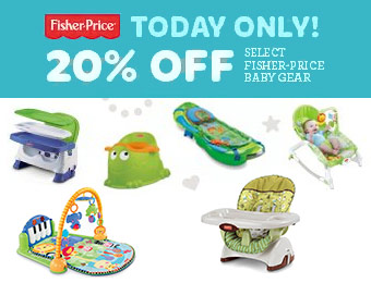 20% off Select Fisher-Price Baby Items