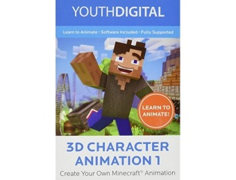 $130 off Youth Digital 3D Character Animation 1