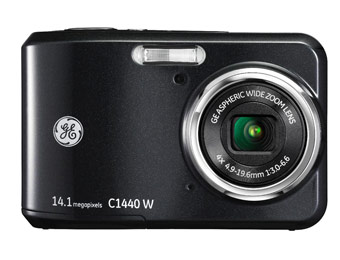 43% off GE C1440W 14.1MP Digital Camera with 720p HD Video