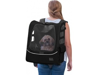 $75 off Pet Gear Rolling Backpack Carrier for Cats and Dogs